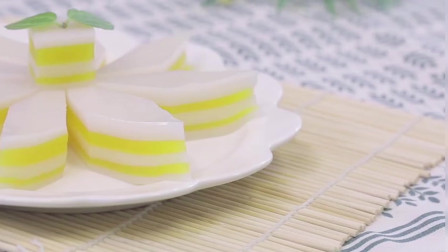 2岁宝宝辅食:想要征服挑食宝宝,来块Q弹爽口的芒果椰浆