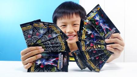 开18包奥特曼荣耀卡,看看3D卡的重复率有多高?