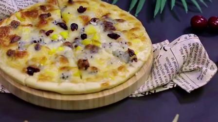 2岁宝宝辅食:学会这道水果披萨,轻松满足宝宝挑剔味蕾!
