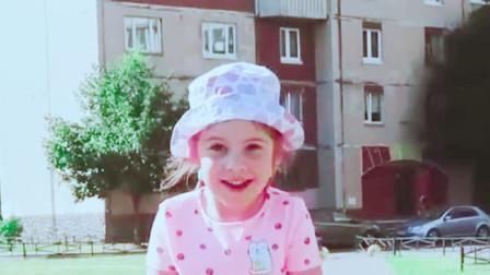 可爱萝莉:萝莉玩滑板时不慎摔伤,脑袋上起了个大包,这可咋办啊