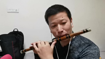 竹笛笛子演奏练习:喜洋洋  恢复训练中的问题讲解