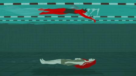 如果你觉得压力太大,不妨看看这个女孩,他在水底看到去世运动员