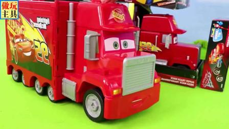 给消防车装上轮子,超给力的拖拉机
