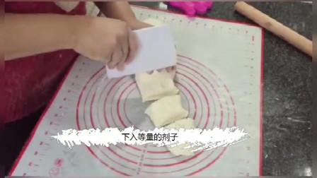 面粉蓬松宣软,一次能吃3个自己在家做馅料十足