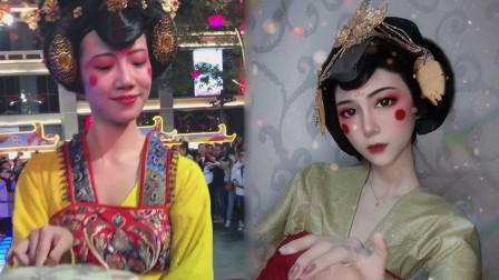 西安不倒翁小姐姐走红,网友高能神模仿,一张鞋垫创造奇迹