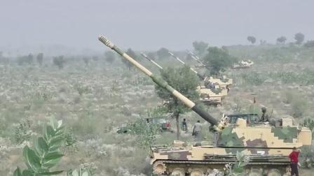 印度陆军新服役的K9自行榴弹炮