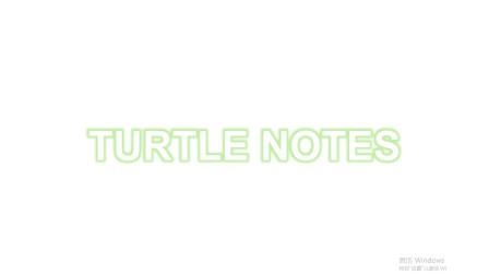 【老乌龟】Notes:关于复出失败的致歉