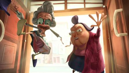 两个疯狂的老奶奶一起抢劫银行,跟警察玩飙车,最后被捕入狱?