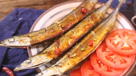 日本人最爱的烤秋刀鱼,制作方法简单,营养美味,喜欢的朋友赶快来学