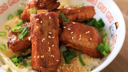 香烤猪肋排,比牛肉便宜,比红烧肉还香,做一盘都不够吃