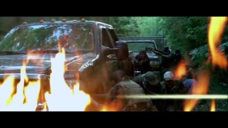 真正的战争大片,机枪扫射丛林冒险,太精彩了