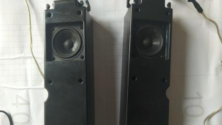 2寸哈曼卡顿无源音箱 空气录音