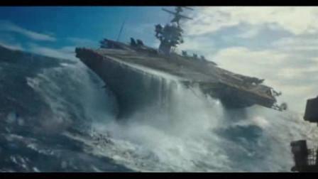 见过核爆没有?这种水下核爆的场景只能在电影中看到了,太震撼