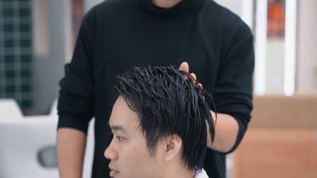 帅哥颜值不差,就是形象普通发型显老气,新款潮短发能否拯救颜值