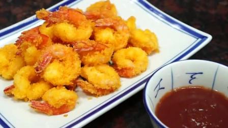 脆皮虾球,虾仁这种做法,感觉是有特色的味道
