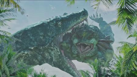 五分钟看完《大蛇2》人类荒岛战巨蟒,怪兽网大掀新篇章