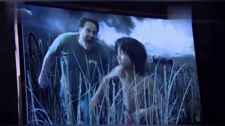 原来《奇幻森林》是这样拍的,真苦了这个小孩