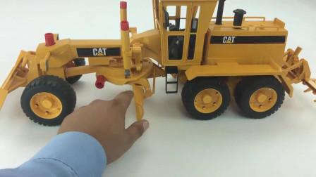儿童工程车玩具 拆卸、安装