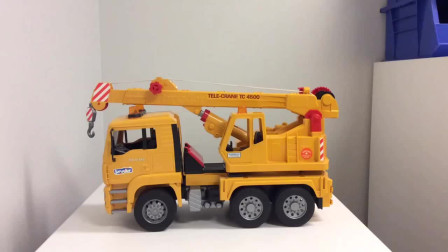 儿童工程车玩具 挖掘机升降杆拆装