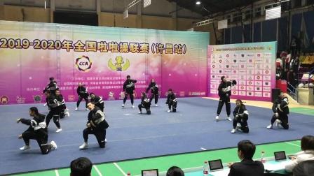 中学全国第二套啦啦操街舞 中学生街舞