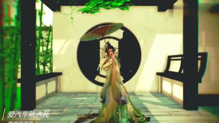 云裳羽衣的小姐姐优美舞蹈,看完心动的感觉,好想娶回家