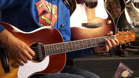 奥森G680电箱民谣吉他左轮评测