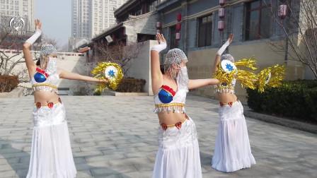 沐汐舞团原创西域舞蹈《海市蜃音》,异域风情扑面而来, 厉害了!