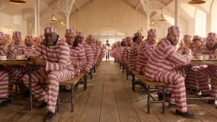 """洗衣服染色多恐怖?监狱的犯人直接""""粉墨登场""""!一定要憋住笑"""