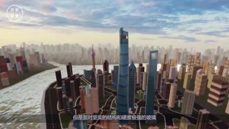 高达632米的上海中心大厦,刮风摆动幅度超过一米,里面的人不害怕?