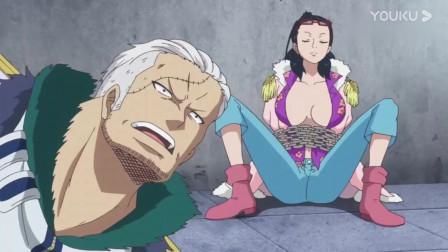 海贼王:达斯琪换回身体后害羞到大叫,对烟男发怒!