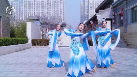 沐汐舞团原创舞蹈《水袖》大爱古风,小姐姐中国风舞蹈真美
