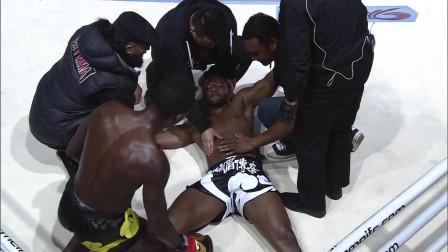 世界级拳王阿迪萨亚一分钟KO新西兰拳王
