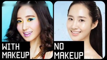 少女时代全员(9人) 妆前 妆后大对比