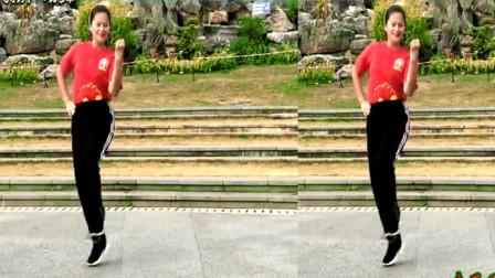 曳步舞鬼步舞《中国山河美》看了包会,简单却锻炼身体