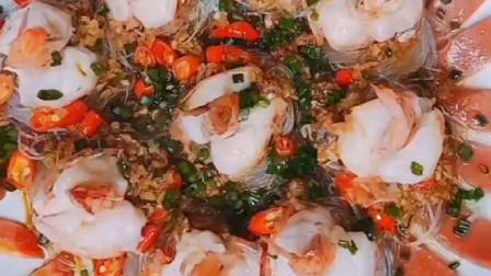 一看就会的蒜蓉粉丝虾,老公秘制一大盘,根本不够吃啊!