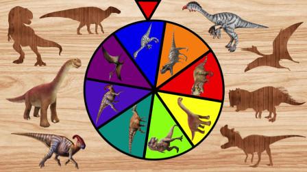 认识角鼻龙、鹦鹉嘴龙等8种恐龙