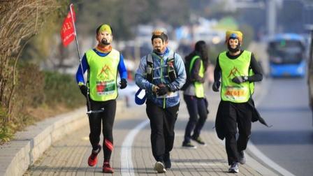 三人行代表队参加2019年度环泰山60公里徒步2019.12.7