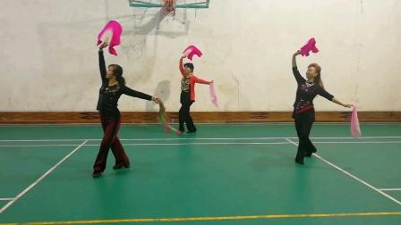 李明琼老师原创舞蹈(幸福不会从天降)we兰兰,课堂练习