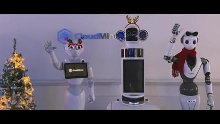 """云端智能机器人的仪式感之""""圣诞节""""~"""