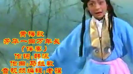 黄梅歌《芳华一曲万年长》-伴奏