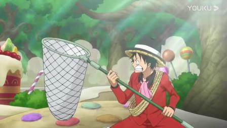 海贼王:路飞看到动物就想抓起来,这些森林霸主也太倒霉了