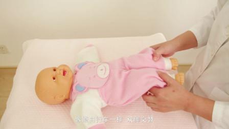 0-3个月宝宝被动操教程,坚持做能提高宝宝免疫力!