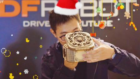 【圣诞节】礼物交换现场我竟开出机械传动首饰盒!还有那些礼物...直呼我不配!