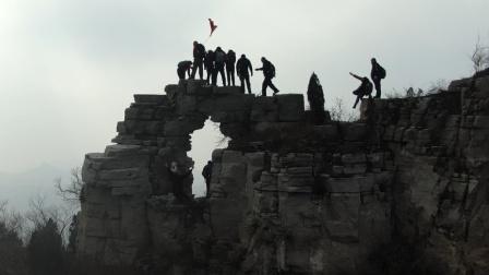 《徒步山东》济南区(22)九鼎山-神仙门穿越19.12.22