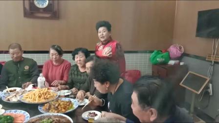 呼兰盛福秧歌队2019.12.25.在一路顺酒店举行年会