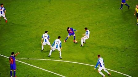 梅西踢球开挂真可怕,如果有人不服,请再看一遍!