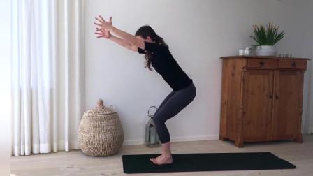 增强臀部和大腿的瑜伽