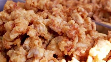 韩国最著名特色炸鸡,沾满酱汁绝了!