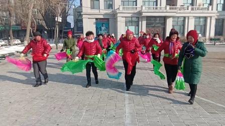 呼兰盛福秧歌队2019.12.26.