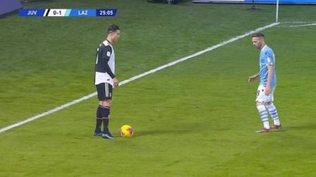 C罗你作弊了吧,这种足球动作也能完成,绝对的主角光环!